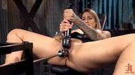 Ashley Hunts First Machine Fuck