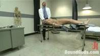 Bondage in Dr. Morgan Black's office