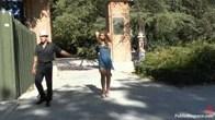 Spanish Slut out for Promenade