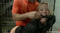 The Role Reversal Game: Simone Sonay Ass Fucked and Dominated by Prisoner