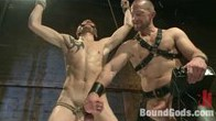 Adam Herst has his way with his helpless captive