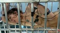 Caged Electrosex With Cruel Busty Lesbian Redheads!