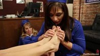 Flight Attendant Foot Freaks: A School For In Flight Foot Service