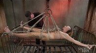 Andre suffers in extreme bondage and brutal torment