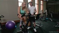 Exercise MILF: Hot and Sweaty Foot Worship!