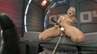 Annika Albright and Her AWESOME body do Battle with the FuckingMachines!