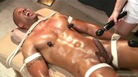 Robert Axel gets Four Hand Massage with happy and unhappy endings
