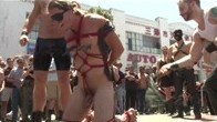 Bound studs first time at Dore Alley Street Fair