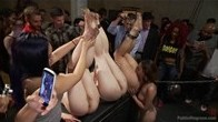 Huge crowd- ass pounding orgy of humiliation!