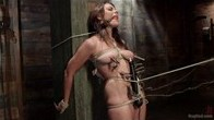 Heavy Bondage for and All Natural Babe