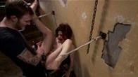 Hot ALT babe gets tormented and fucked in bondage.