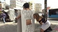 Cheating Wifes Big Hot Ass Shamed In Public Display