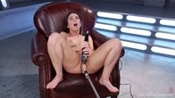 Serenas Anal-Machine-Fuck, Sybian-Driven, Feast of Orgasms