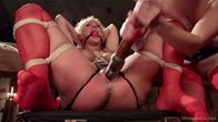 When the Cats Away Slave Girls Play: Spanking, Whips, Anal Strap-on