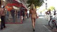 Natural Blonde Anal Slut, Shamed for Berlin Tourists