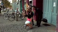 Dirty Whore of Berlin Humiliated at Sex Club