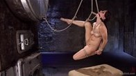 First timer is Devastated in Brutal Bondage and Made to Cum