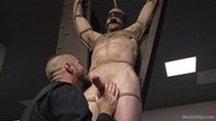 Ripped stud cruising for sex, instead gets a relentless edging