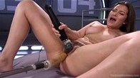 Dani is machine Fucked Into Squirting Orgasms!