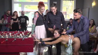 Submissive, Slut Melody Petite Gets Humiliated and Fucked in Public!
