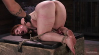 Pain Slut in Extreme Bondage Suffers from Brutal Torment