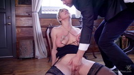 Only One way to Find Out: Step-Daughter Anally Trained By Busty Step-Mother
