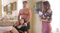 Step Sisters Ivy and Krissy Fall For Ramons Manipulative Whims