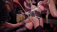 Squirting DP Anal Sluts Serve the Folsom Orgy