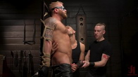 Roped In: Muscle Dom Riley Mitchell Bound and Edged