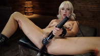 Sexy Cam Girl Lilly Bell is Bound and Machine Fucked