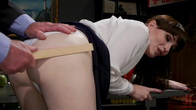 Schoolgirl Snitch: Natalie Mars Punished and Fucked by Headmaster