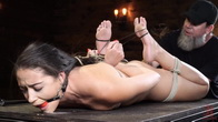 Avi Love: Young, Sexy Rope Slut Tormented and Made to Cum in Bondage