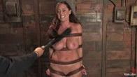 Christina Carter endures her punishment