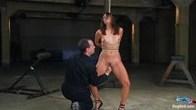Amateur Casting Couch: Thea Marie... stripper, porn star, new bondage slut