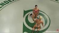 Holly The Hit Man Heart vs Wenona The Gymnast